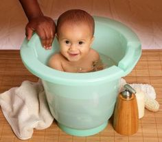 Small bath made of recycled plastic!