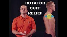 Kinesiology Tape   Kinesio taping for rotator cuff relief