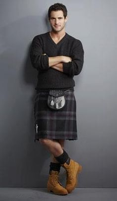 I don't know who this is..but I don't care, it's a man in a kilt.. :D