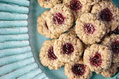 NYT Cooking: Almond-Walnut Thumbprint Macaroons