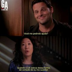 ♤ jkkkkkkkkkkkk Anatomy Grey, Grays Anatomy Tv, Cristina Yang, Series Lgbt, Justin Chambers, Grey's Anatomy Tv Show, Medicine Student, Memes Br, Movie Quotes