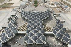 Aeropuerto de Queen Alia, en Amán (Jordania), obra del arquitecto Norman Foster