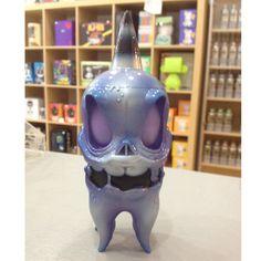 Custom Squid Skull by Kathie Olivas and Brandt Peters