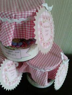 Cookies in a jar Cookie Jars, Cookies, Cake, Recipes, Ideas, Gourmet Gifts, Crack Crackers, Biscuits, Kuchen