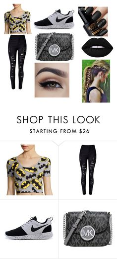 """""""teen girls be like"""" by daisy-788 on Polyvore featuring WithChic, Michael Kors and Lime Crime"""