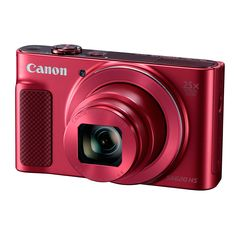 Canon(R) PowerShot(R) HS Digital Camera (Red) CMOS sensor; DIGIC image processor for stunning images in low light; optical zoom with intelligent IS for optimum stabilization; Built-in Wi-Fi(R) & NFC connectivity for easy sharing Canon Eos, Wi Fi, Appareil Photo Reflex, Cameras Nikon, Camera Deals, Dslr Photography Tips, Canon Digital, Digital Cameras, Digital Slr
