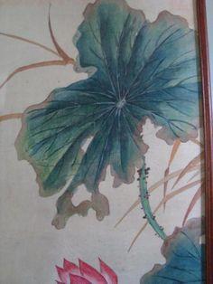 Gemälde Entenpaar und Lotus (Chinesisch)