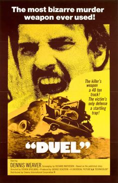 70's & 80's Horror Films: Duel (1971) (TV)