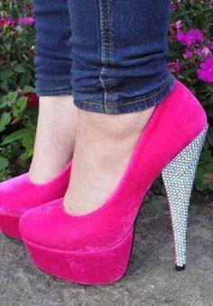 HOT PINK AND BEDAZZLEMENT