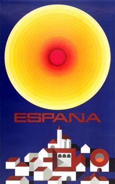 Vintage Travel Poster - España/Spain - 1971.