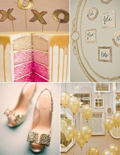Bodas en color dorado #bodas #aperfectlittlelife ☁ ☁ A Perfect Little Life ☁ ☁ www.aperfectlittleli