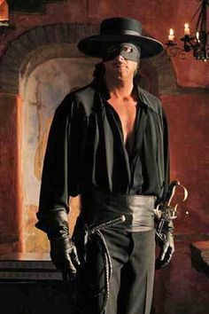 Christian Meier as Zorro. Old Western Actors, Western Film, A Mascara Do Zorro, Zorro Movie, Zorro Costume, The Legend Of Zorro, The Mask Of Zorro, Douglas Fairbanks, Western Comics