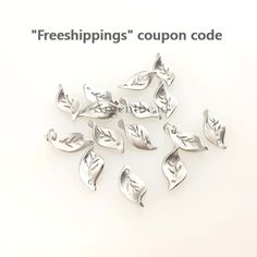 2pcs  16mm*7mm  Leafs Pendants Silver Plated Brass Autumn Leaves Bridal Leaf Small Silver Leaf Charm, AG2016110310   3 times coating by Argentbead on Etsy