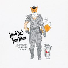 mad red fox max.