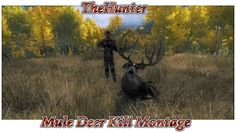 TheHunter - Timbergold Trails - Mule Deer Kill Montage
