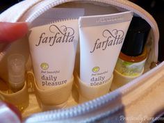 Farfalla Daily Pleasure Travelset. Available at Vibe H2O Wellness Centre.  #5 801 7th Ave N Saskatoon, SK 306-664-2299