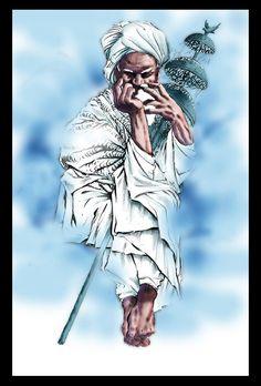 Bem,primeiro vo escevr em port. 1º mesmo p/ poder me explicar melhor... Essa é Oxum,uma Orixa da umbanda,eu já estava qrendo fazer esse desenho a muit tempo,mas eu ñ sei pq eu &...