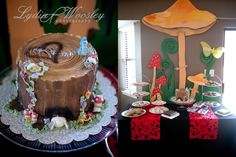 There are so many cute ideas in this wonderland party. Love it!