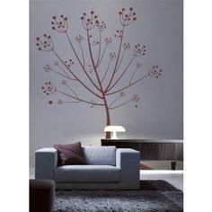 INTERIEURSTICKERS: Een prachtige muursticker in de vorm van een boom