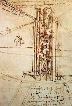 Leonardo Da Vinci, History of Mechanical Engineering