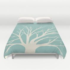Teal and cream for the bedroom
