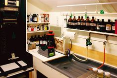 A Personal Darkroom Built Inside a New Backyard Shed