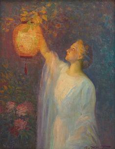 Lantern's Glow Charles E. Waltensperger (1871-1931)