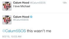 figured it was Michael that did that haha