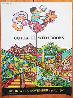 Vintage Book Week poster