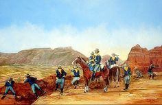 Mackenzie's Raiders at Palo Duro by Michael Gray. While the various tribes were in the canyon for mutual protection, their leaders made a strategic mistake by having their camps scattered over a large area on the canyon floor. This became a disadvantage when the troops attacked since the Indians were unable to assemble a united defense. The battle of Palo Duro Canyon was the Southern Plains Indians' desperate final, but futile effort at military resistance against the encroaching Anglo…