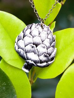 17cb6728f3a Baby Artichoke Necklace  RelishedByMe  LoveRelish Frutas Y Vegetales