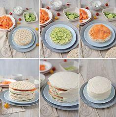 Sandwich Cake - Amuses bouche