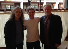 Twitter / 1DSuperHumans: #New || Niall last night with two of the eagles