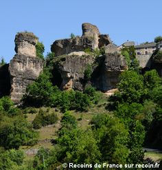 Village de France, Cantobre, Grands Causses, Aveyron Forest Waterfall, Gaulle, Beaux Villages, Most Visited, Alps, Countryside, Natural Beauty, French, Landscape