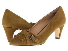 Fitzwell Emery Camel Kid Suede - Zappos.com