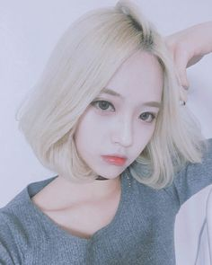 New hair white asian korean fashion 44 ideas Ulzzang Short Hair, Style Ulzzang, Korean Ulzzang, Ulzzang Fashion, Korean Fashion, Girl Short Hair, Short Girls, Cute Korean, Korean Girl