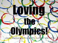 Good ideas for activities with children for the olympics