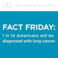 Lung Cancer Alliance~My Mom Passed away 10.10.12 from lung cancer (ONE REASON).