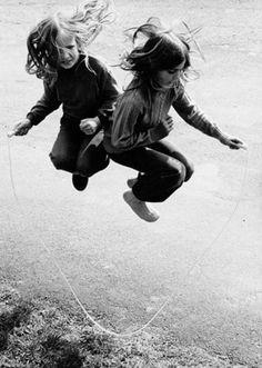 Swedish Photographer Sten Didrik Bellander | Spain, 1953.  Loved playing this at recess....Jumprope!