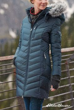Women's Sun Valley Down Parka Winter Coats Women, Coats For Women, Ladies Coats, Winter Jackets, Winter Outfits, Winter Clothes, Womens Parka, Down Parka, Trends