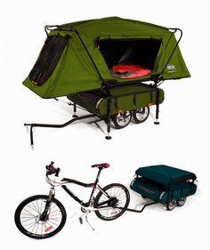 biking / camping