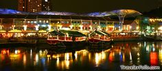 Better go to Clarke Quay at night, innit? ;) #SGTravelBuddy