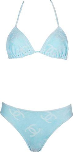 Swimwear Fashion, Bikini Fashion, Bikini Swimwear, Boho Swim Suits, Cute Bathing Suits, Cute Swimsuits, Women Swimsuits, Boys Trunks, Chanel Logo