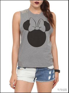 mini mouse studded tank