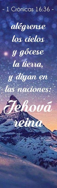 #Jehová #Cronicas #Biblia #cielos #tierra