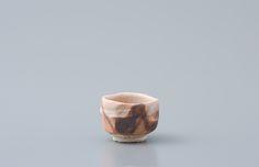 """Ken Matsuzaki, Sake cup, shino glaze, Stoneware, 2 x 2.5 x 2.5"""", MK961"""
