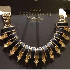 fierce gold choker found at Zara! -- Taken with #snapette