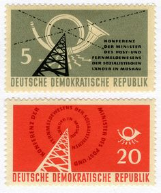 Postage stamps from the DDR Old Stamps, Rare Stamps, Vintage Stamps, Ddr Museum, German Stamps, Postage Stamp Design, Going Postal, Stamp Collecting, Poster