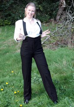 Women's Drover Pants - Western and Victorian Riding Pants. $89.99, via Etsy.