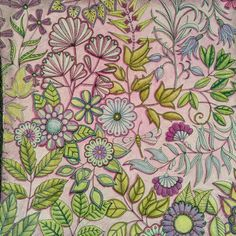 Secret Garden Coloring Book ArtAdult